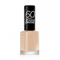 Rimmel 60 Seconds Super Shine Nail Polish - 8 ml, Let's Get Nude
