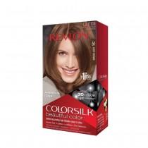 Revlon Colorsilk Haircolor #51 LightBrown 5N (PACK OF 3)