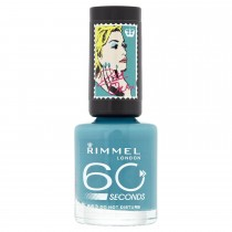 Rimmel 60 Seconds Nail Polish by Rita Ora, Do Not Disturb (Turquoise)