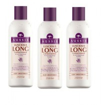 Aussie Luscious Long Conditioner 250 ml (Pack of 3)