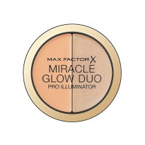 Max Factor Miracle Glow Duo Pro Illuminator, Creamy Highlighter, 2-Medium