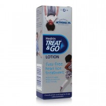 Hedrin Treat & Go Head Lice Lotion 50ml