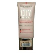 Bourjois City Radiance Medium Coverage Foundation - 01 Rose Ivory, 30ml