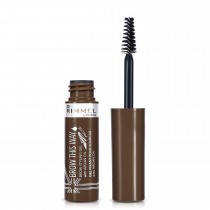 Rimmel London Brow This Way Gel With Argan Oil, Medium Brown, 5 ml