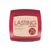 Rimmel London Lasting Finish 25 HR Powder, 001 Light Porcelain, 7 g