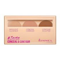 Rimmel London Insta Conceal & Contour Palette, Medium, 8.4 g