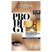 L'oreal Prodigy 8.34 Sunset Natural Medium Golden Blonde Hair Dye