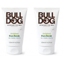 Bulldog Original Face Scrub 125ml (2 Pack)