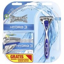 Wilkinson Sword Hydro 3 Economy Pack, 5 Blades Plus Razor