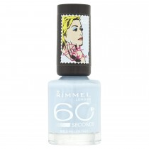 Rimmel 60 Seconds Nail Polish by Rita Ora, Pillow Talk (Light BLue)