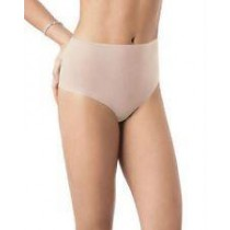 SPANX SKINNY BRITCHES HIPSTER - SHEER CHEEKY-CUT PANTY - NUDE - SIZE MEDIUM