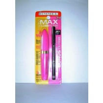 RIMMEL Max Volume Lash Mascara + Soft Kohl Eyeliner Pencil 001 black