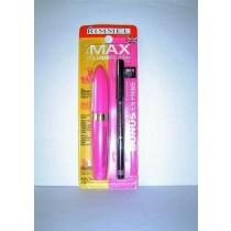 RIMMEL Max Volume Lash Mascara + Soft Kohl Eyeliner Pencil 001 black