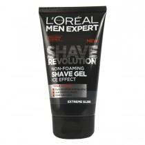 L'Oreal Paris Men Expert Shave Revolution Glide Shave Gel 150ml - Non Foaming Ice Effect