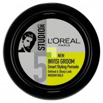 L'Oréal Studio Line Invisi Groom Smart Styling Hair Pomade, 75 ml