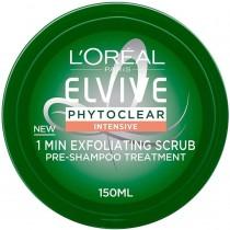 L'Oréal Phytoclear Pre Shampoo Exfoliating Scrub Mask  150ml