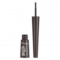 Rimmel London Brow Shake Filling Powder, .7 g, Dark Brown