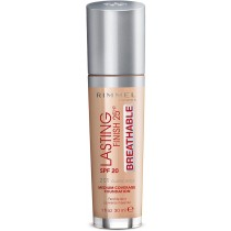 Rimmel London Lasting Finish Breathable Foundation, Spf 20, 201 Classic Beige