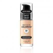Revlon Colorstay Foundation for Combination/Oily Skin with Saliclyic Acid, SPF 15, Nude (Packaging May Vary)